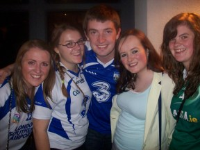 Myself and some fellow countymen. Except Clare, who is from Offaly.